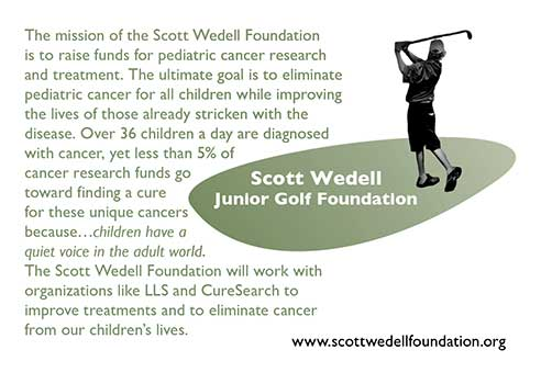 Scott Wedell Junior Golf Foundation Double Eagle Sponsor